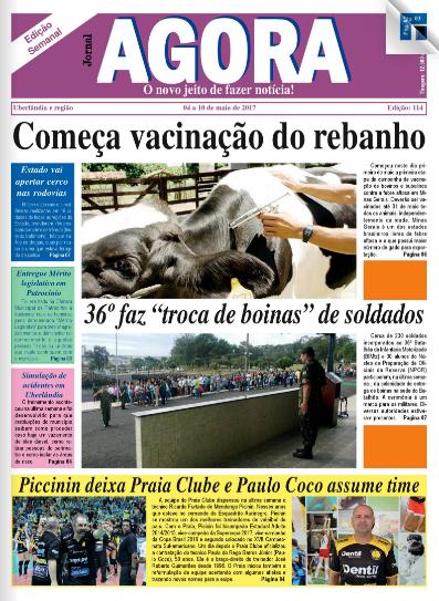 JORNAL AGORA EDIÇÃO 114-SEMANAL