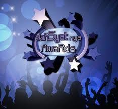 Daftar Lengkap Nominasi Dasyatnya Award 2012