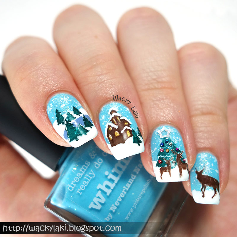 Wacky Laki: Whimsical Winter Scene!
