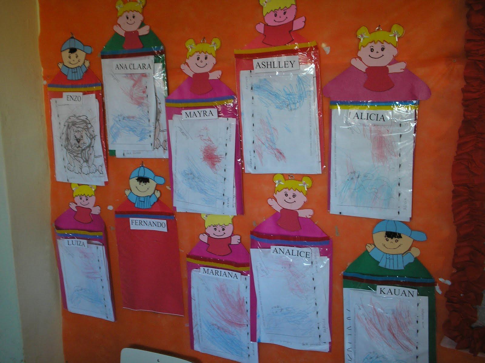 Centro municipal educa o infantil milena bonfim for Mural de fotos 1 ano
