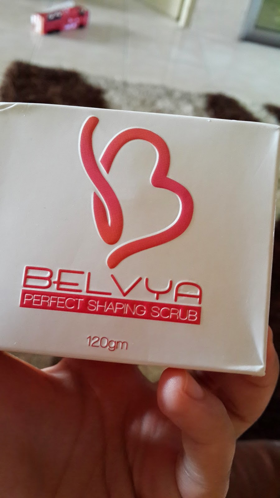 Review Belvya perfect shaping scrub