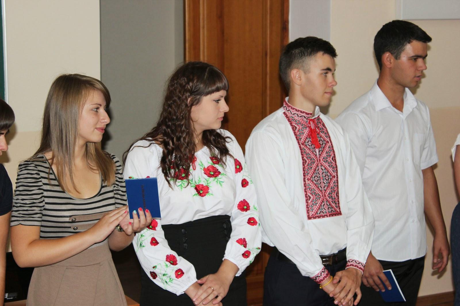 Посвята у студенти на обліково-фінансовому факультеті. Фото 6.