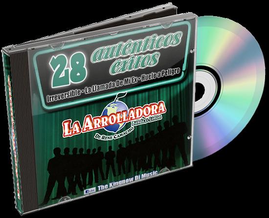 La Arrolladora Banda El Limón -  28 Autenticos Exitos (Disco - Album 2013) HERSONMUSIC_NET