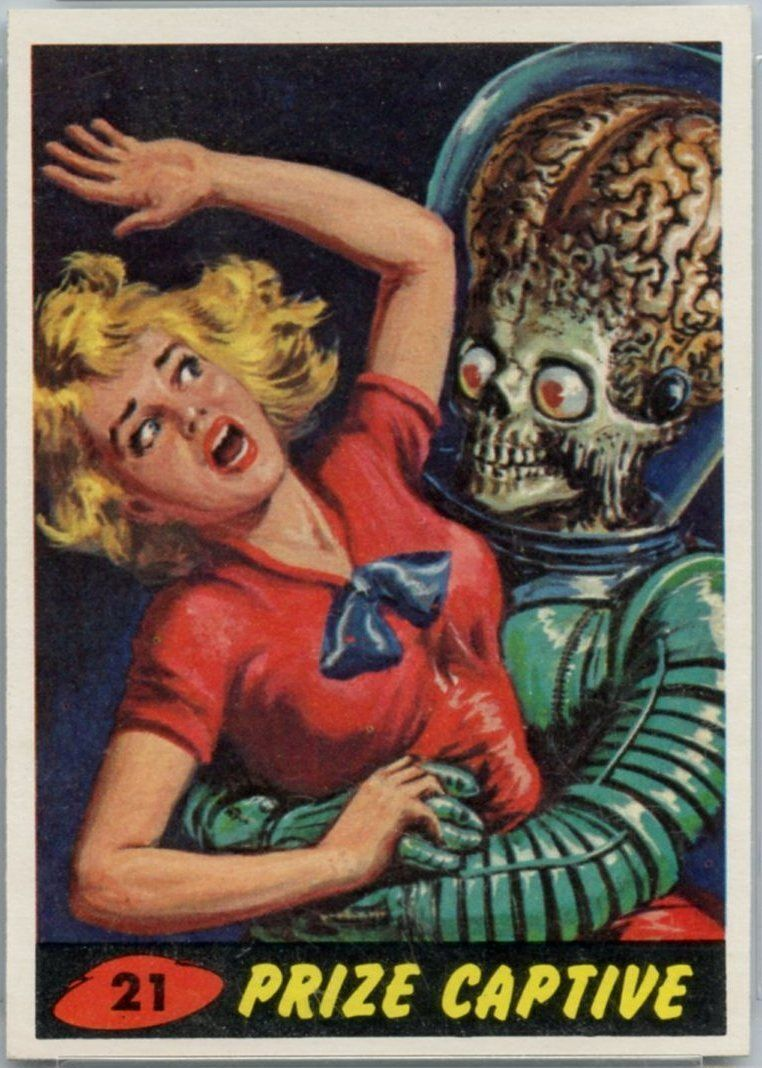 '62 Mars Attacks PSA 4