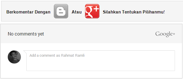 toggle system blogger and google plus bersamaan