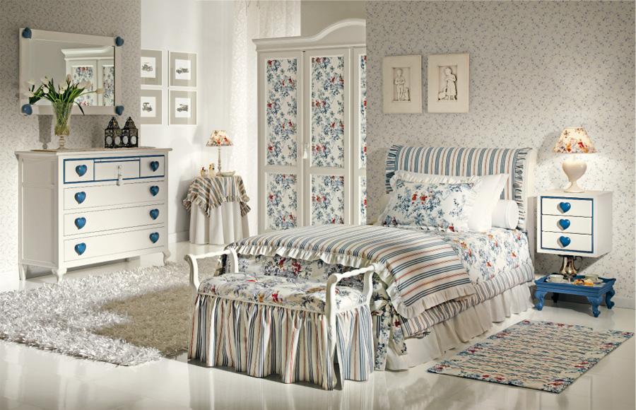 интерьер детской комнаты в стиле прованс фото