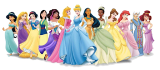 Princesas disney para imprimir