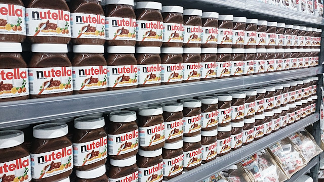 Nutella World, book, Nutella