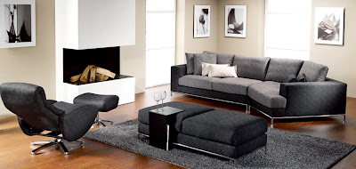 Contemporary Living Room Sets.9