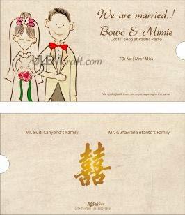 contoh undangan pernikahan dalam bahasa inggris unik