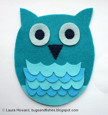 felt owl make