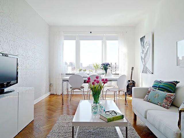 decoracao de sala retangular simples:Mania de Decorar: 7 inspirações : {salas de estar}