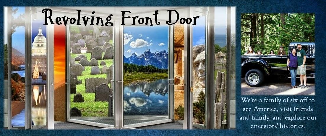 Revolving Front Door