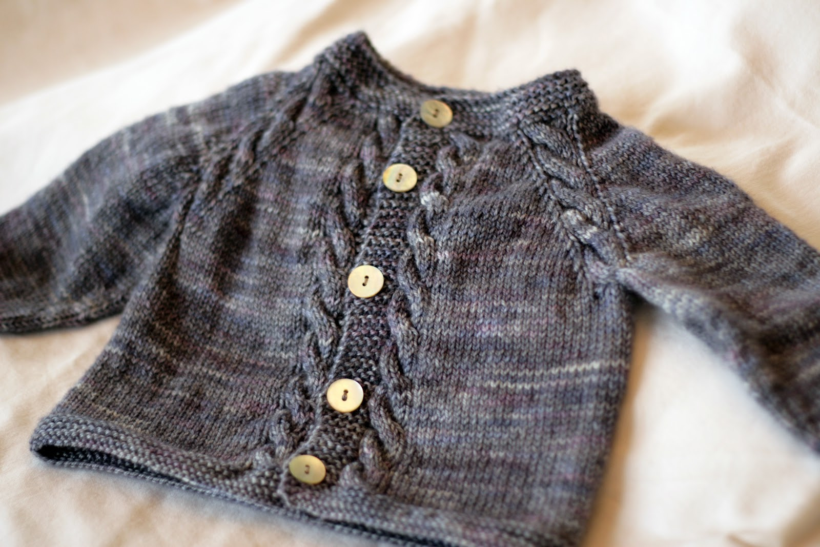 Knitting Pattern Baby Cardigan Newborn : KATE PRESTON HANDKNITS /BLOG: The Sunnyside Baby Cardigan
