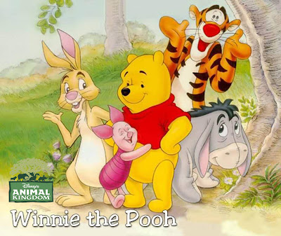 disney animals from winnie the pooh