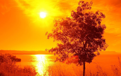 Sunset and sunshine amazing wallpapers for pc and laptop