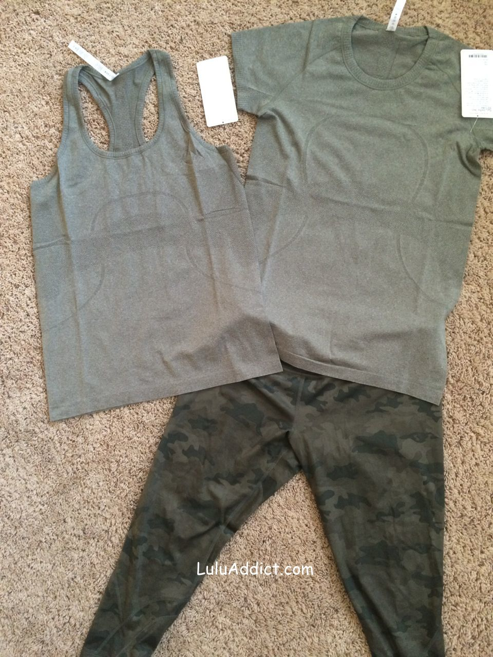 lululemon fatigue swiftly camo inspire crops