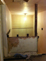 3rd floor stair cupboard removed