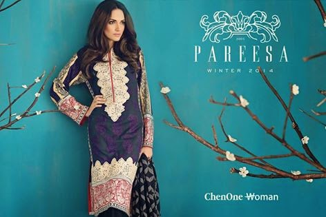 Pareesa by Chen One Winter Fashion for Girls
