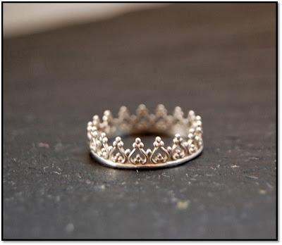 bijou lunaticart bague couronne dorée prix 40euros