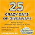 25 Crazy Dayz of Giveawayz *ended*