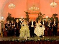 cena-concierto en el palacio