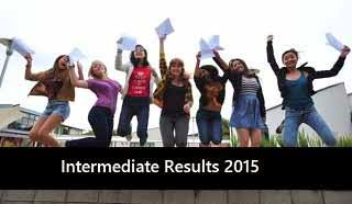 UP board intermediate result 2015
