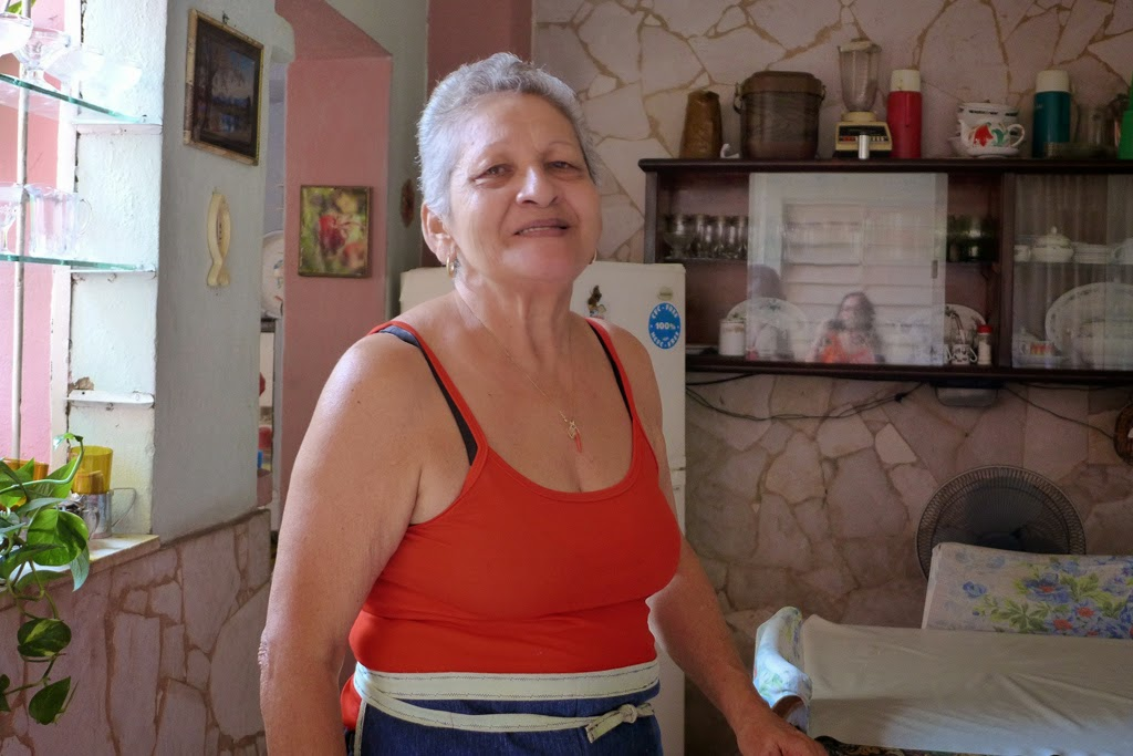 Santiago de Cuba Fidelia at home