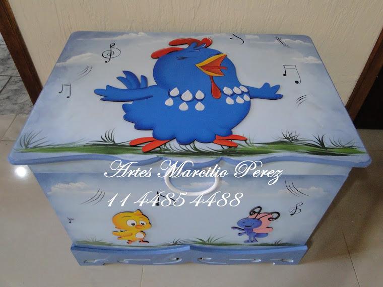 caixa de presente Galinha
