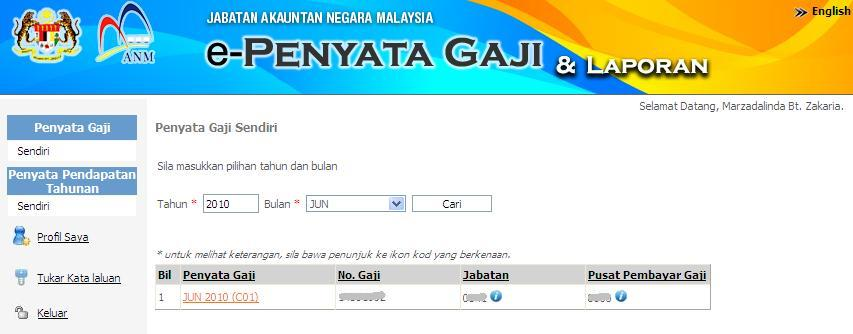 Contoh Penyata Gaji Bulanan Saya http://kasihanakibu.blogspot.com/2011