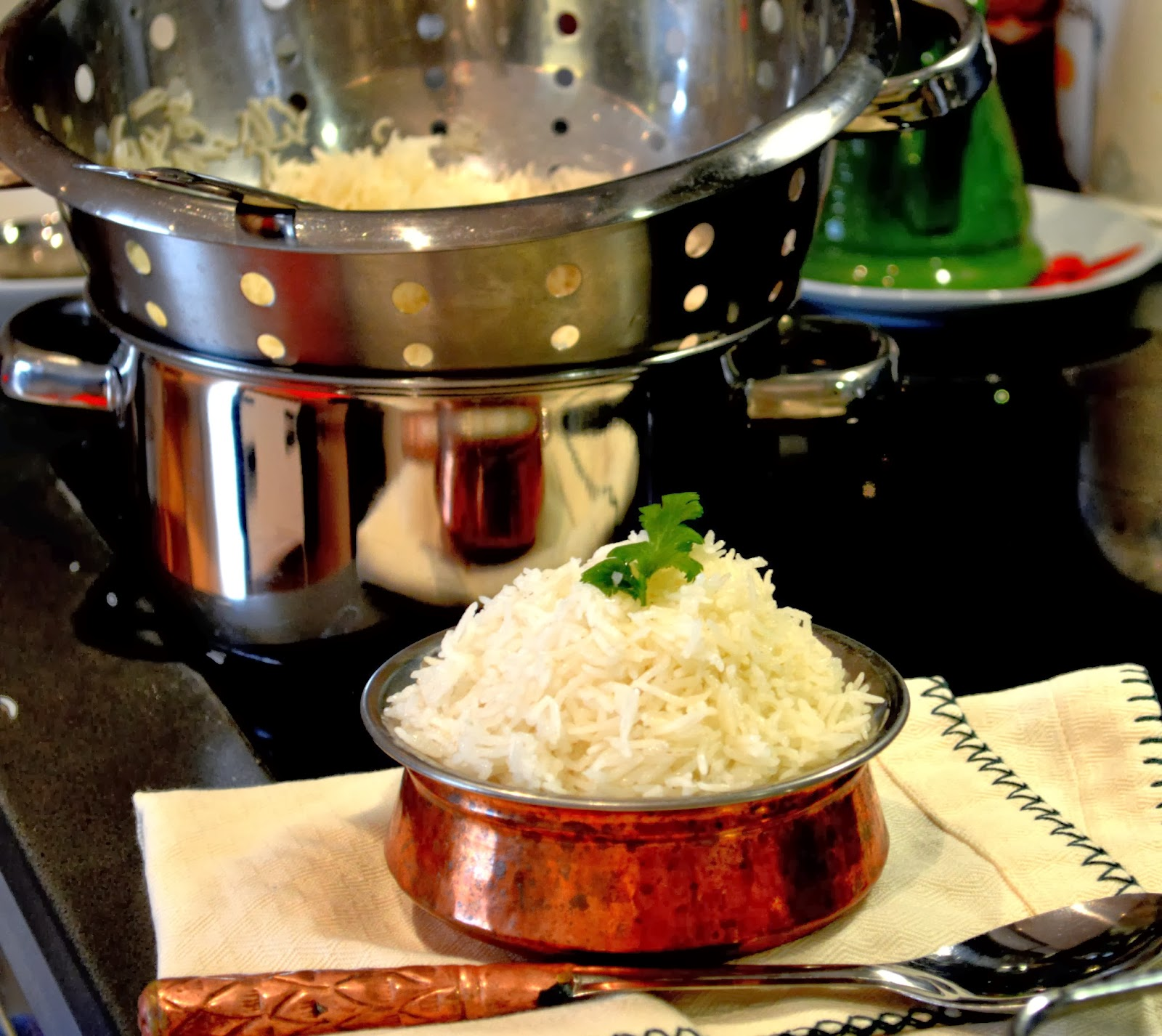 How to Make Basmati/ long grain rice