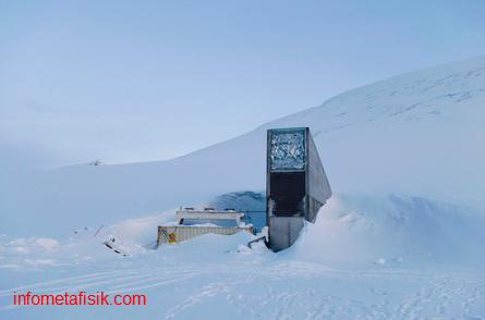 foto dari kubah kiamat di kutub utara