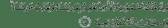 Surat Al-Fath Ayat 14