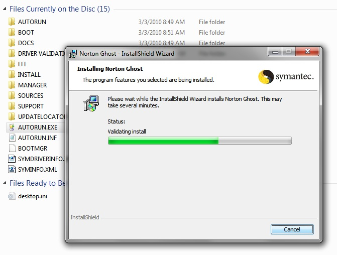 how to use norton ghost to clone a drive