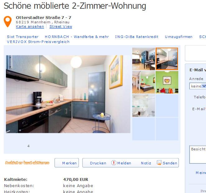 Wg Zimmer In Mannheim: Wohnungsbetrug.blogspot.com: 22. November 2012