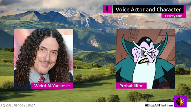 Weird Al Yankovic as The Probabilitor