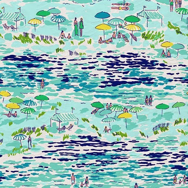 Lilly Pulitzer Summer 2012 High Tide Toile