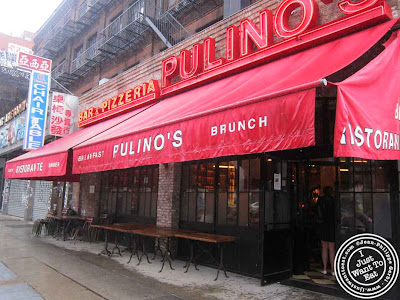 Image of Pulino's Pizza in NYC, New York