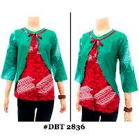 Blouse Batik Wanita DBT-2836