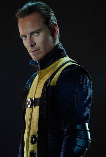 Michael Fassbender as Magneto in XMen I know I know Fassbender has been