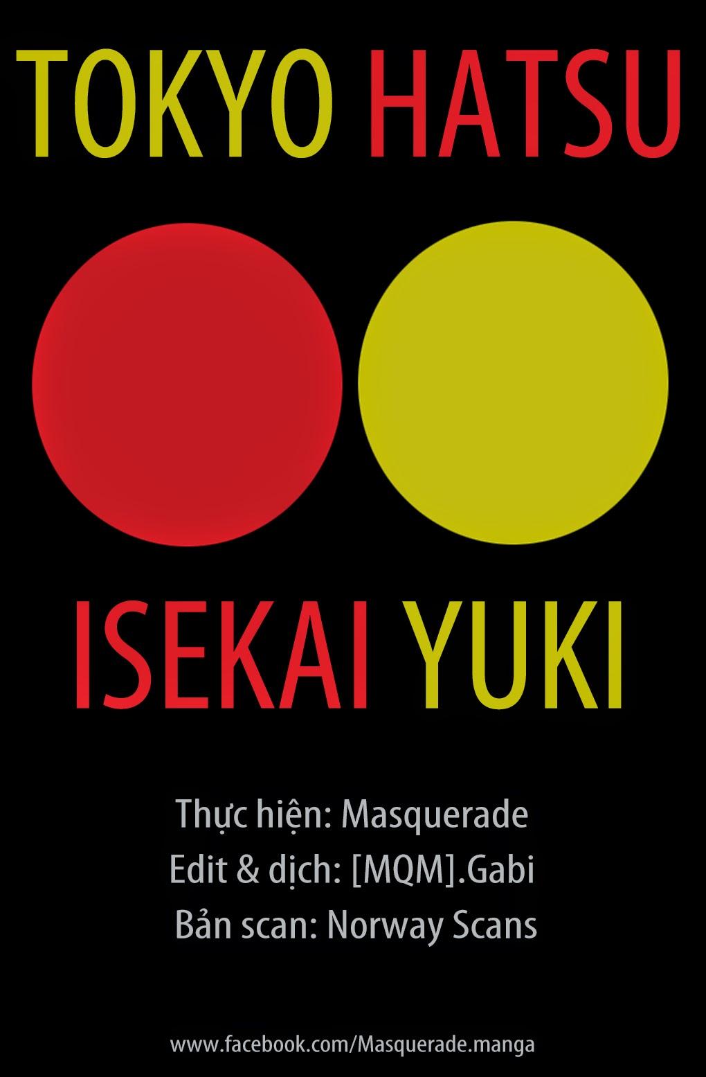 Tokyo Hatsu Isekai Yuki chap 9 Trang 28