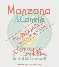Concurso Manzana&Canela
