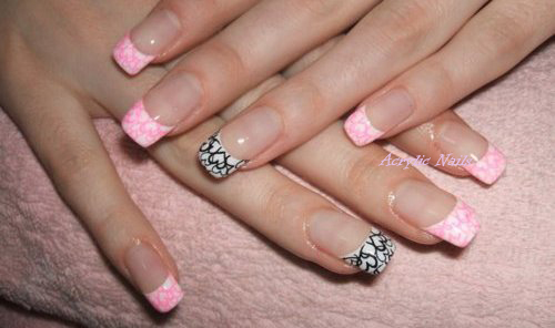 ACRYLIC NAILS: With Stylish Nail Designs - By Acrylic Nails
