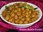 Channa Masala Sundal