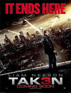 Poster Taken 3 (Búsqueda implacable 3) (2015)