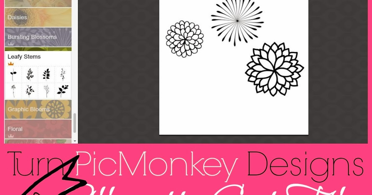 How To Cut Picmonkey Designs In Silhouette Studio
