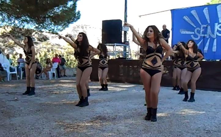Grupo de baile amay fotos de las actuaciones en los ba os de mula dom 13 10 13 - Banos mula ...