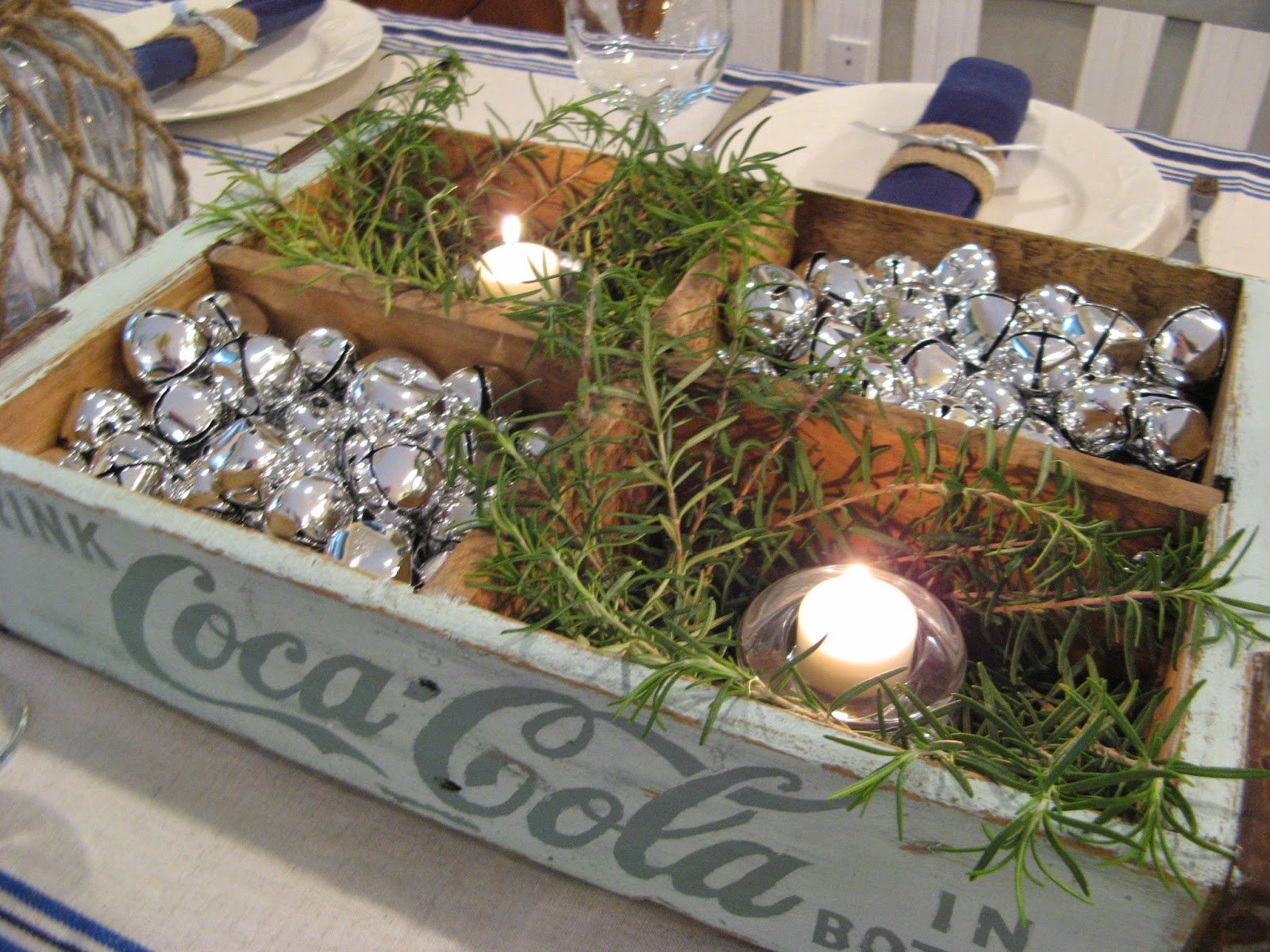 Beach Cottage Christmas - Centerpiece