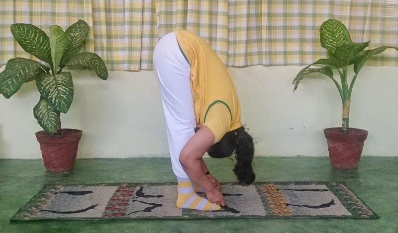 Padangushthanasana Yoga Asana Pose