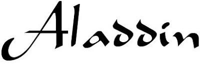 Tipografía de Aladdin